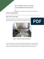 Glucolisis Anaerobica y Fermentacion de La Levadura