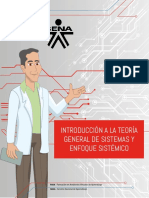 OA Teoría General de Sistemas y Enfoque Sistémico