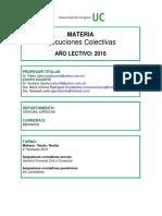 Ejecuciones Colectivas 2016