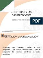las organizaciones y su entorno