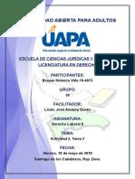 Tarea 1 Derecho Laboral II 11-05-2018