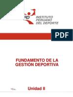 Fundamento de la  Gestión Deportiva_Presentación_unidad II.pptx