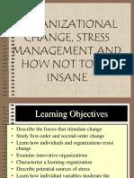 Cambio Organizacional, Trabajo en Equipo y otros