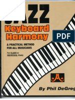 Jazz Keyboard Harmony - Phil de Greg