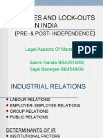 Strikes and Lockouts in INDIA 1