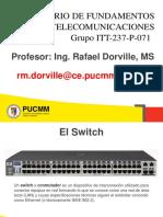 Laboratorio de Fundamento de Las Telecomunicaciones - Clase #4.b Switch (1)