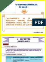 Proyecto de Inversion Publica}