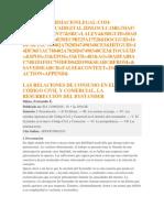 Las Relaciones de Consumo en El Nuevo Código Civil y Comercial