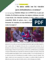 Rita Segato 2017-La Única Salida Son Los Vínculos Reales