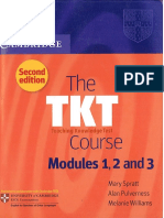 The TKT Course Modules 1, 2 and 3 2nd