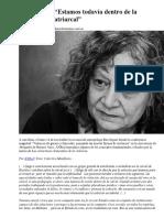 Rita Segato-Prehistoria Patriarcal2017