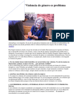 Rita Segato-Violecia de Género Problema Masculino