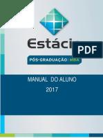 Manual do Aluno (2017) - Pós-Graduação - Estácio de Sá