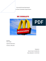 Informe Mc Donalds