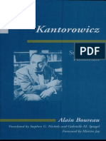 Kantorowicz. Stories of a Historian (Foreword) -  Alain Boureau