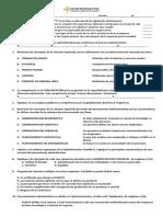 Primer Parcial Procesos Administrativos