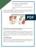 Impacto de La Dieta en Colecistitis y Cancer Gastrico