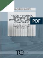 Prision Preventiva Comparecencia