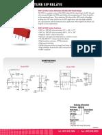 9091 Series Reed Relay Datasheet