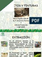 TEXTRACTOS VEGTALES Y TINTURAS