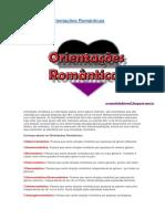Conheça as Orientações Românticas.doc