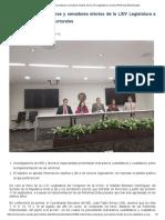 El IBD Invita a Senadoras y Senadores Electos de La LXIV Legislatura a Evaluar Reformas Estructurales