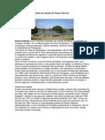 História Da Cidade de Santo Estevão