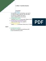 Pronumele Reflexiv Functii Sintactice