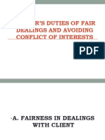 LAWYER'S DUTIES OF FAIR DEALINGS AND AVOIDING CONFLICT.pptx