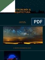 Arquitectura y Astronomía