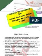 7. IntegratedNote DrNico Dan Peran Apoteker-WS MPO Febr-2016