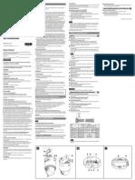 SNC-RH124 RS44N RS46N Installation Manual e11