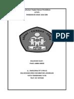 Contoh Buku Ekspedisi Lembaga Paud