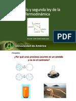 3.Entropía y Segunda Ley de La Termodinamica