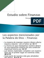 Estudio Sobre Finanzas(PerspectivaBiblica)