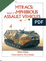 US Amphibious Assault Vehicles-Osprey Vanguard 45 Amtracs