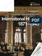Cambridge International as Level International History 1871–1945