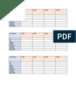 Conjugation Sheet