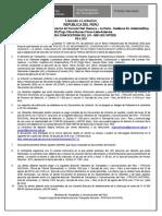 Publicacion en El Diario Llamado a Licitación Segunda Convocatoria
