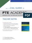 New-Official Guide PTEA Teacher Notes
