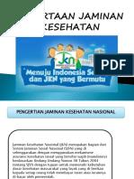 2. Kesertaan Jaminan Kesehatan