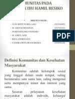 ASKEP KOMUNITAS PADA KELOMPOK IBU HAMIL RESIKO TINGGI.pptx