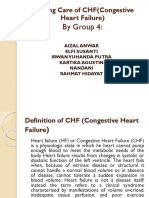 Nursing Care of CHF(Congestive Heart Failure)