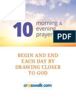 Morning and Evening Prayers