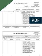 APR - Analise Preliminar de Riscos - De Rede de Esgoto