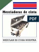 Mezclado Solidos