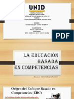 La Educación Basada en Competencias