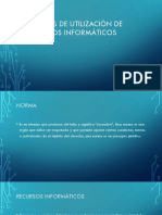 Normas de Utilización de Recursos Informáticos