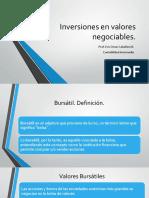 3a Inversiones en Valores Negociables (1)