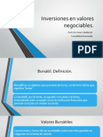 3a Inversiones en Valores Negociables (1)